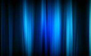 Обои свет, линии, Синий