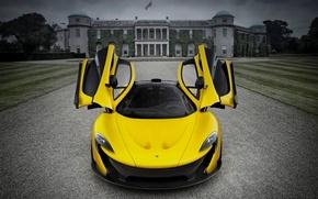 Картинка McLaren, Yellow, Supercar