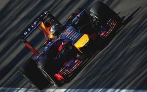 Картинка Гонщик, Formula 1, Red Bull, Vettel, Чемпион, Sebastian, RB10