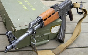 Картинка оружие, автомат, AK-47
