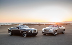 Обои роллс-ройс, Dawn, Rolls-Royce, кабриолет, даун