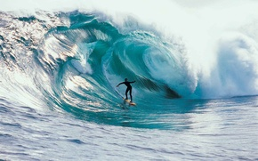 Картинка волна, скорость, серфинг