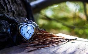 Картинка стрелки, сердце, часы, love, циферблат, heart, autumn, clock