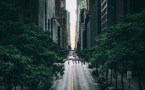 Обои Нью Йорк, улица, город, США