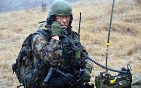 Картинка оружие, солдат, Slovenian Army