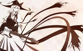 Картинка девушка, арт, Touhou