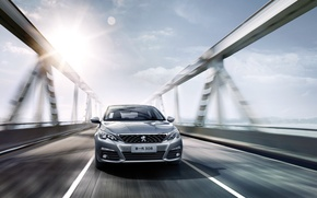 Картинка Peugeot, седан, пежо, 308