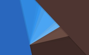 Картинка линии, синий, голубой, текстура, геометрия, коричневый