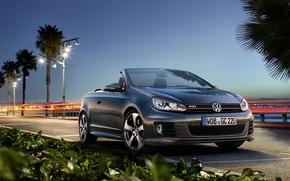 Обои Golf, Volkswagen, GTI, фольксваген, кабриолет