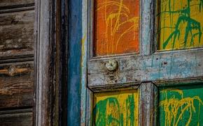 Картинка дом, текстура, дверь