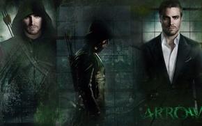 Обои tv series, Arrow, Оливер Куин, Stephen Amell, Oliver Queen, Стивен Амелл