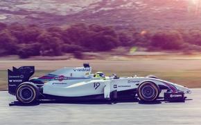 Картинка гонка, спорт, формула 1, болид, formula 1, Williams, Felipe Massa, FW36, Williams Martini Racing