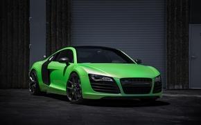 Картинка Audi, Green, Tunercult, r8