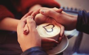 Картинка любовь, сердце, руки, пара, love, heart, romantic