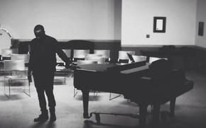 Картинка музыка, комната, пианино, музыкант
