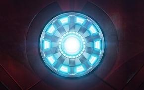 Картинка лого, железный человек, Iron Man, Iron Man 3
