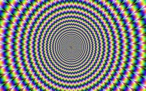 Обои colors, circles, Mind teaser