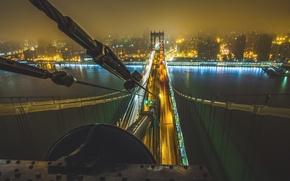 Картинка мост, city, город, подъем, Нью-Йорк, Манхэттен, bridge, new york, manhattan, climb