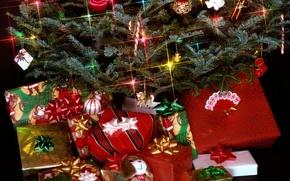 Картинка игрушки, елка, новый год, рождество