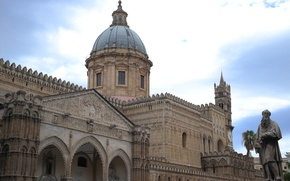 Картинка Италия, Кафедральный собор, Сицилия, Палермо