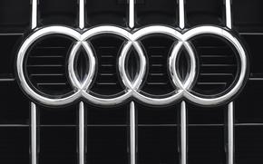 Картинка Audi, знак, решетка, эмблема