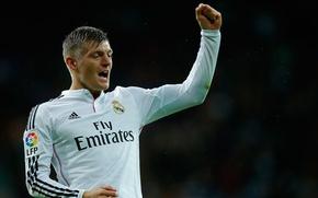 Картинка футбол, Real Madrid, La Liga, Toni Kroos