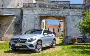 Картинка Mercedes-Benz, мерседес, Coupe, кроссовер, GLC-Class, C253