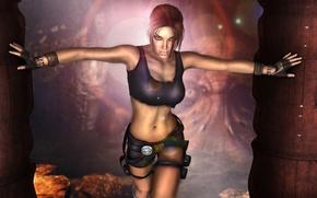 Обои Tomb Raider, Lara Croft, fan, art