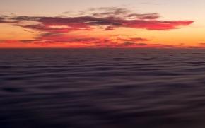 Картинка Landscape, clouds, Big Sur, Calfornia