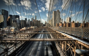 Картинка дорога, Мост, стропы