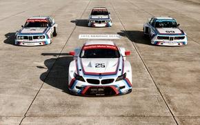 Картинка БМВ, Тень, Race, 1975, 2015, Sebring, BMW Z4 GTLM, BMW 3.0 CSL