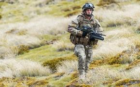 Картинка оружие, армия, солдат, New Zealand Defence Force