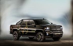 Картинка Concept, Chevrolet, шевроле, пикап, Silverado, сильверадо
