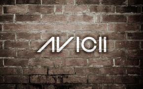 Картинка стиль, музыка, стена, кирпич, house, Progressive house, AVICII, Electro house, авичи