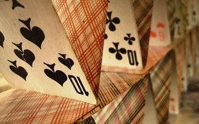Картинка Карты, карточный дом, колода