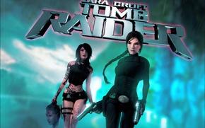 Картинка пистолет, lara croft, tomb raider, Tomb Raider Underworld, doppelganger