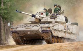Картинка рисунок, арт, Sweden, бронемашина, миротворческие силы, CV90-40C IFV