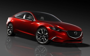 Обои концепт, 2012, Mazda TAKERI