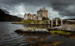 Картинка Scotland, architecture, Eilean Donan castle