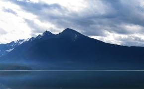 Обои Вода, Горы, Лес