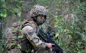 Картинка оружие, армия, British Army