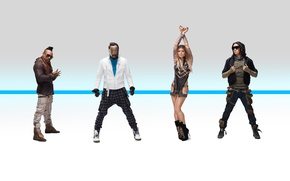 Обои The Beginning, Will.i.am, Black Eyed Peas, Apl.de.ap, Taboo, Fergie