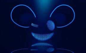 Картинка deadmau5, дедмаус, deadmaus, мертвая мышь, подмигивает