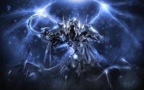 Картинка Diablo 3, art, angel of death, reaper of souls, maltael