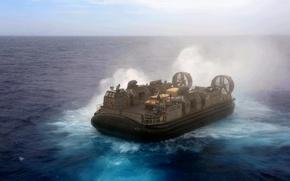 Картинка gun, sea, weapon, war, water, landing, powerful, .50, sugoi, machine gun, subarashii, training, navy, Hovercraft, …