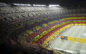 Картинка wallpaper, football, Spain, Camp Nou, FC Barcelona, Catalonia, Mes Que un Club, More Then a ...