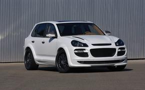 Картинка Porsche Cayenne, Gemballa, Design, White, Tuning