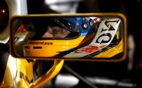 Картинка отражение, Зеркало, Formula 1, alonso