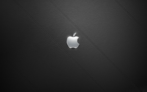 Обои чёрный, Apple, кожа