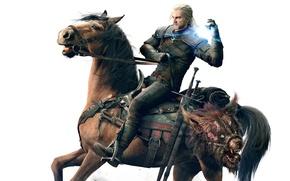 Картинка голова, чудище, магия, Namco Bandai, Ведьмак, Дикая Охота, CD Projekt RED, The Witcher 3: Wild ...